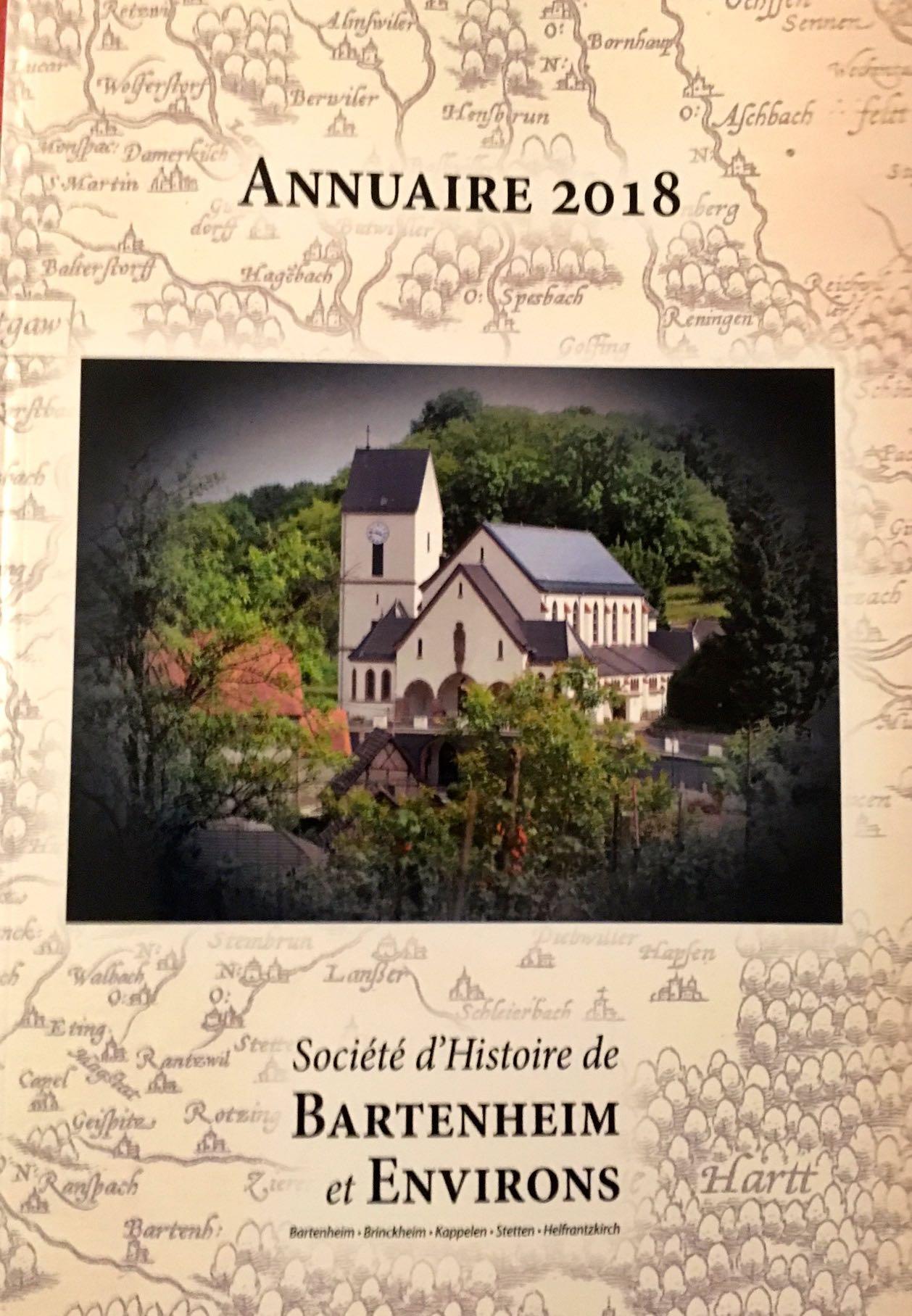 Société d\'Histoire : Procurez-vous l\'Annuaire 2018 ! - Mairie de ...